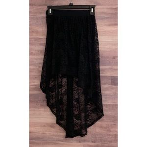 Charlotte Russe High Low Skirt
